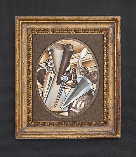 Oil on wood, 60x51 cm, 2009/2012