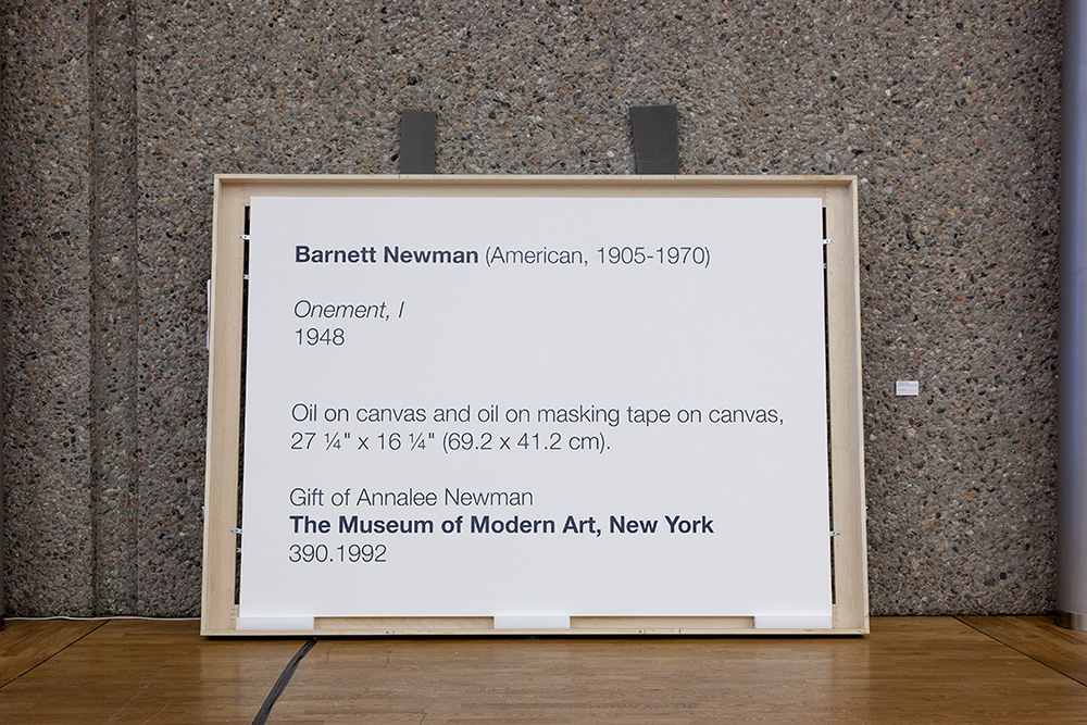 La Collection Moderne (Newman)